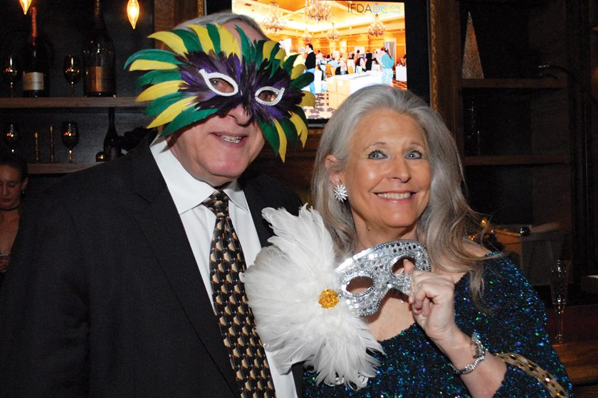 Bob Guberman, Barbara Hawthorn.