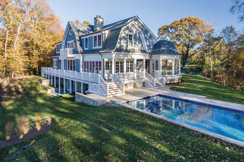Lynbrook of Annapolis built this LEED Gold home overlooking Annapolis's Weems Creek.