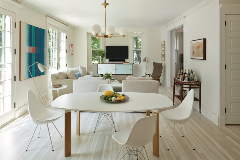Anne Decker's plan created space for the breakfast area and great room.
