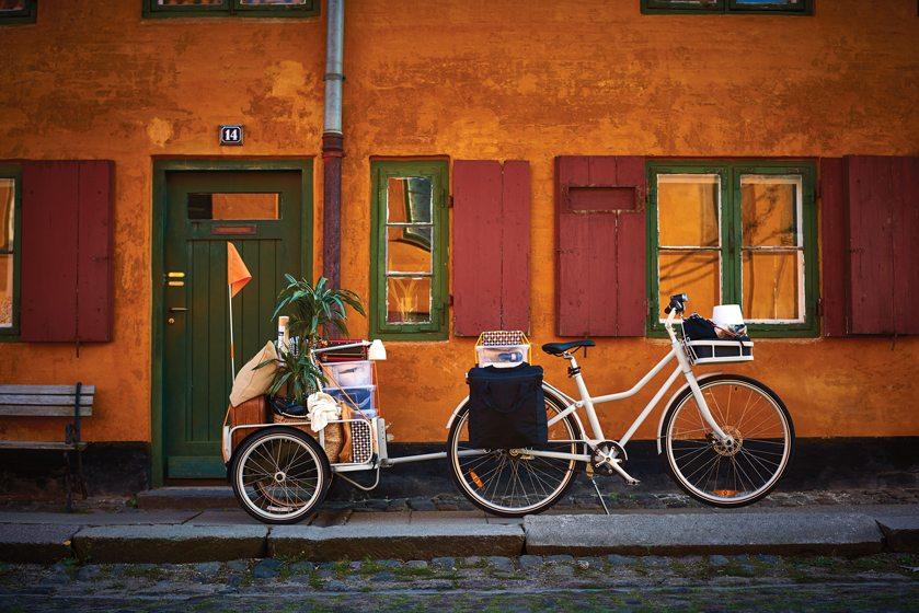 The SLADDA bike from IKEA.
