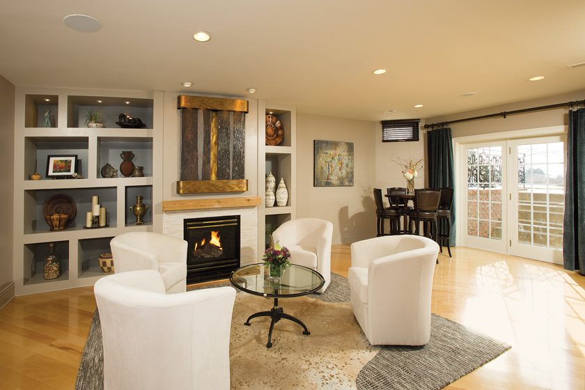 Grand, Basement $50,000 To $100,000: Sun Design Remodeling Specialists, Inc.  © GREG HADLEY.