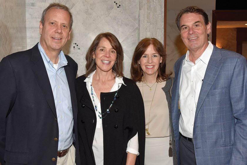 Garry Witts, Ellen Gilday Witts, Karen Gilday, Tom Gilday.
