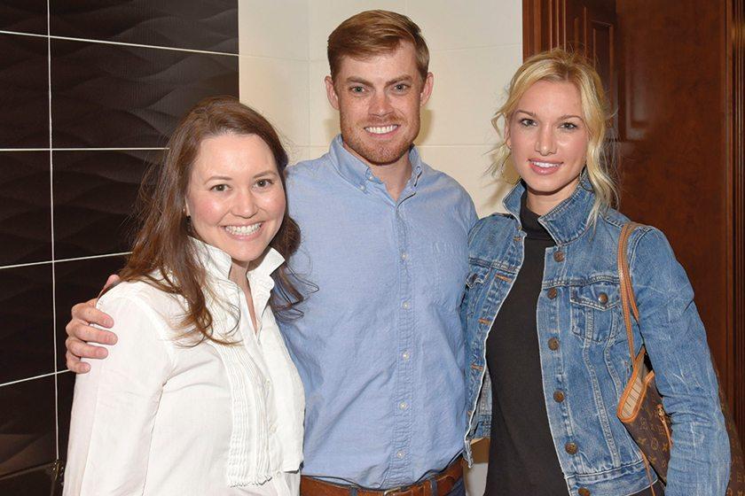 Rebecca Penno, John Thorsen, Kelly Thorsen.