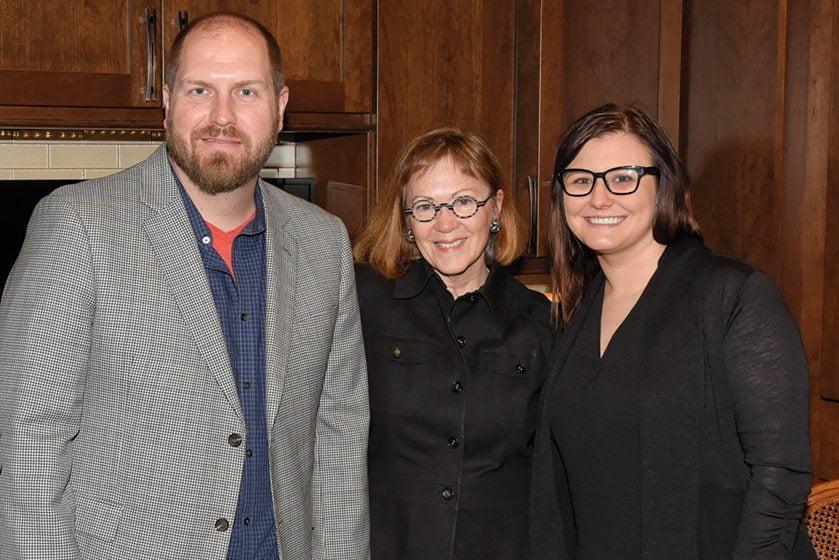 John Cole, Mary Douglas Drysdale, Amanda Lowery.