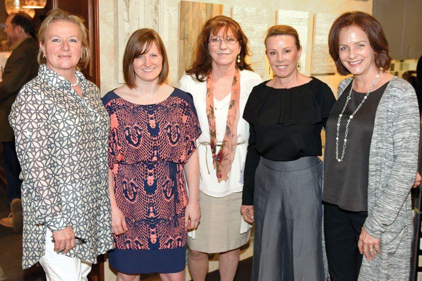 Gretchen Everett, Tara Lowe, Peggy Golden, Sherri Pellegrino, Catherine Funkhouser.