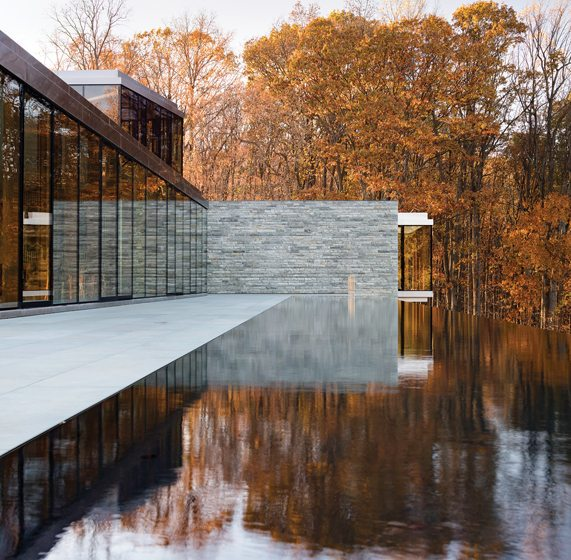 David Jameson Architect, Wildcat Mountain House, The Plains, Virginia. Photography: Paul Warchol.