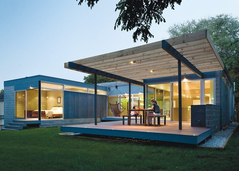Kube Architecture, Casa Abierta, Chevy Chase, Maryland. Photography: Paul Burk.