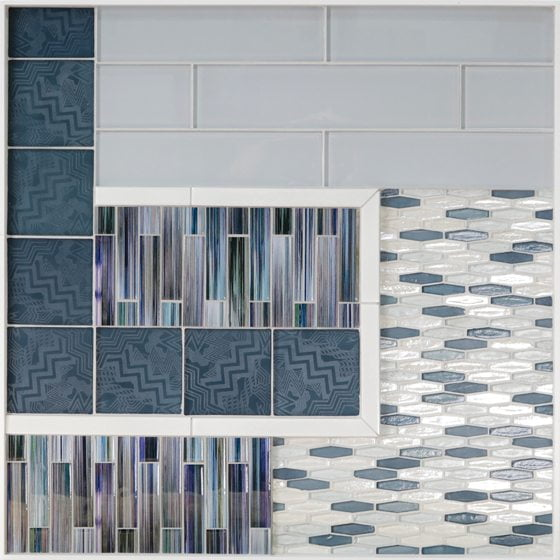 Lunada Bay's Lacquer tile collection.