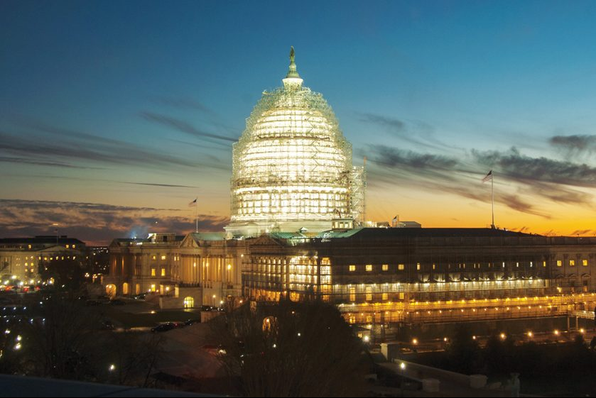 Historical Arts and Casting; U.S. Capitol Dome Restoration. Photography: Architect of the Capitol.