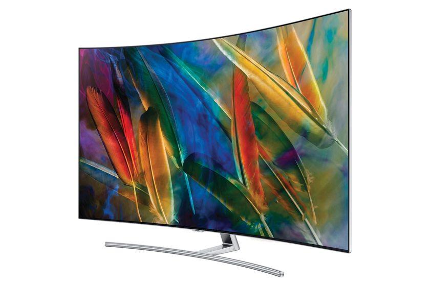 Samsung's new QLED TV.