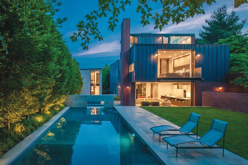 Robert M. Gurney, FAIA, Architect, Q Street residence, Washington, DC. Photography: Maxwell MacKenzie.