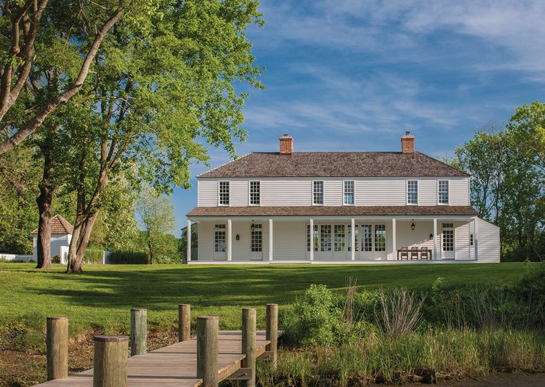 Jones & Boer Architects, West River House, Harwood, Maryland. Photography: Maxwell MacKenzie.