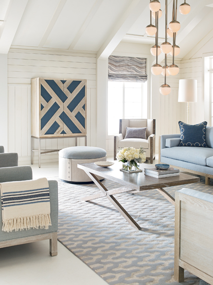 coastal chic furniture. The New Mabley Handler Furniture Collection For Kravet Exudes Airy, Beach-house Style. Coastal Chic