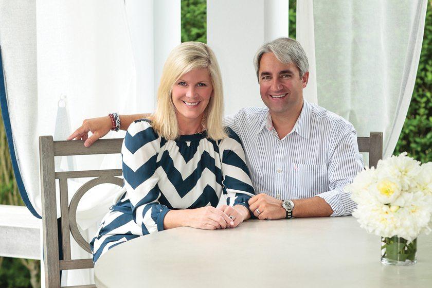 Designers Jennifer Mabley and Austin Handler.