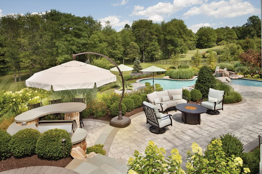 Case Study Landscaping Outdoor Living Home Design Magazine