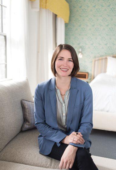 Designer Kate Ballou.