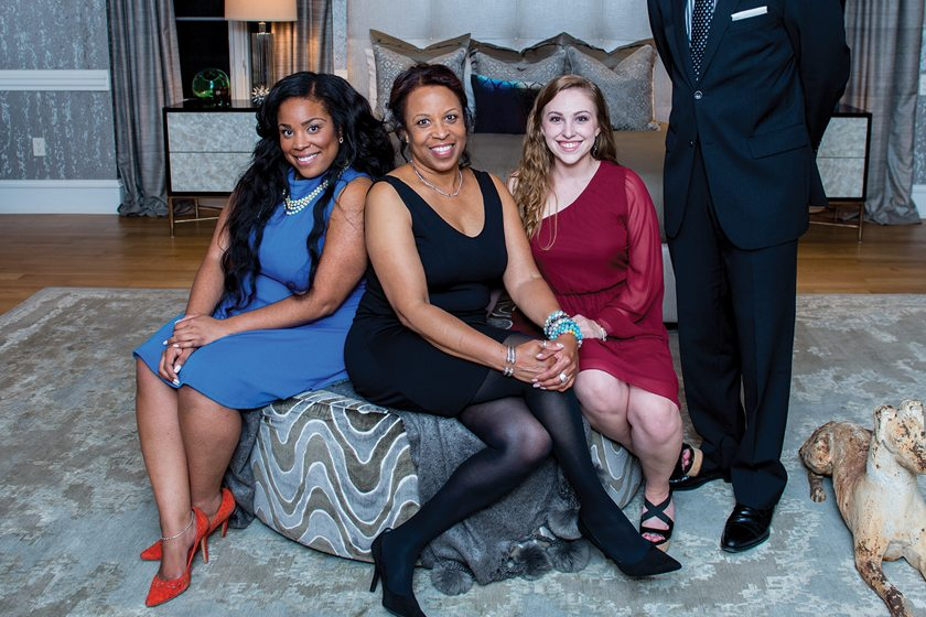 Danielle Rojas, Dennesse Guadeloupe Rojas,  Jacqueline Colburn.