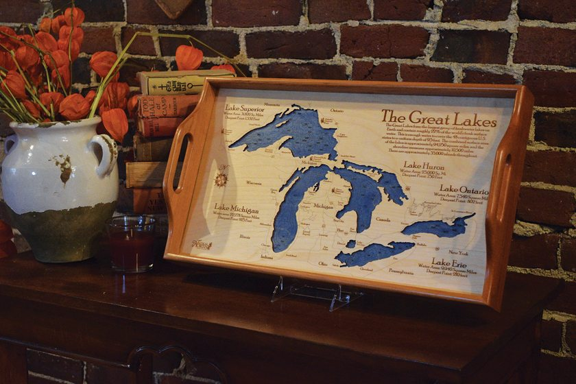 Nautical North on Dock Street features custom charts and 3-D maps.