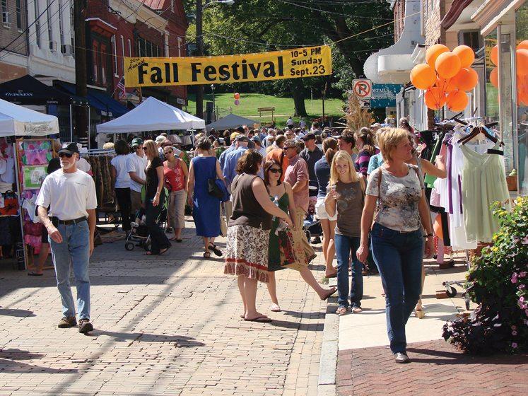 Annapolis celebrates Fall Festival in September.