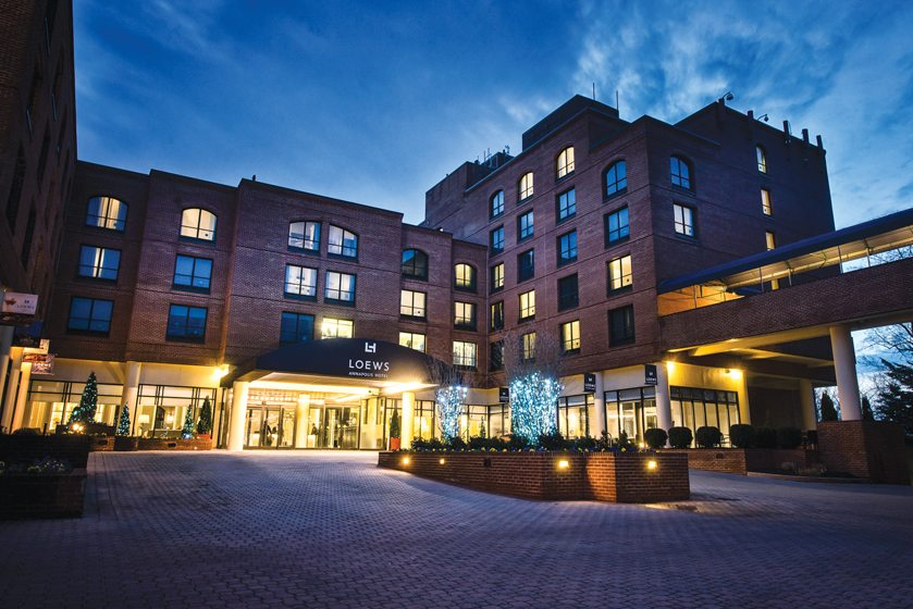 The Loews Annapolis Hotel.