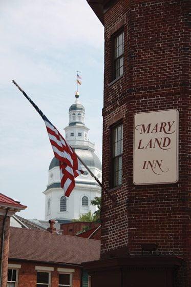 Annapolis boasts historic treasures such as the Maryland Inn.