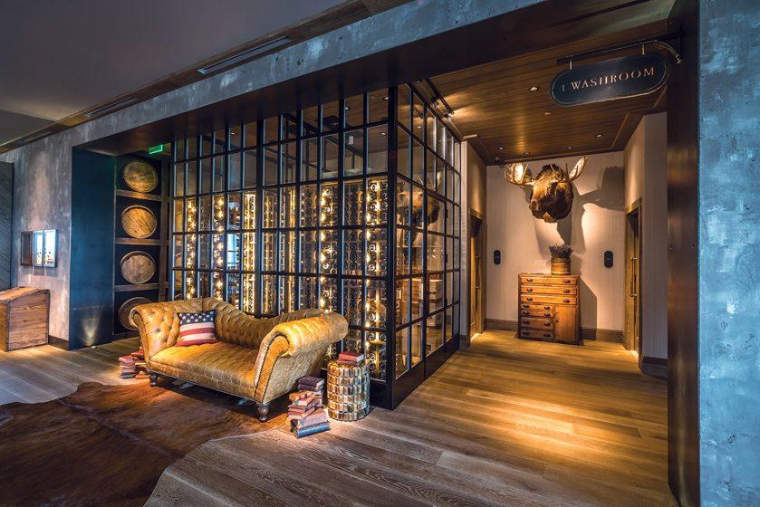 The wine room at Rye Street Tavern. © Noah Fecks
