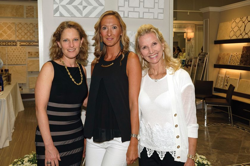 Editor in chief Sharon Jaffe Dan, Marble Systems' Justine Sturtevant and Jane Vagt.