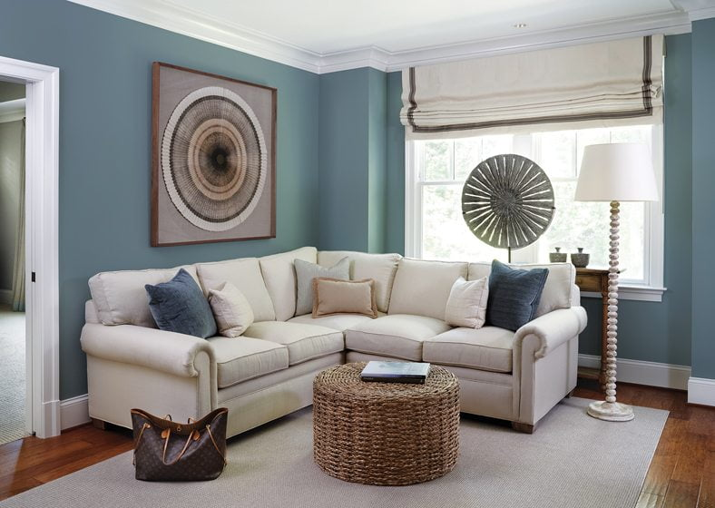 In the tranquil master suite, a cozy sitting room beckons.