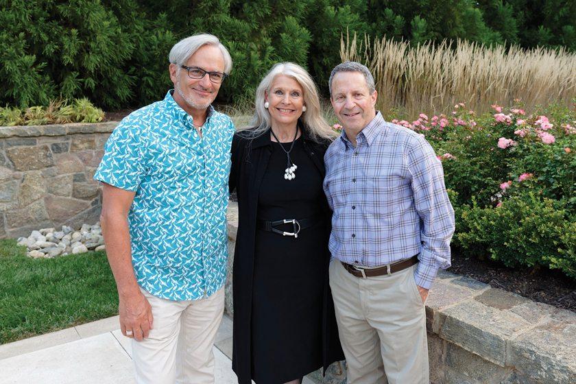Joe Gilday, Barbara Hawthorn, Surrounds's Barry Schneider.