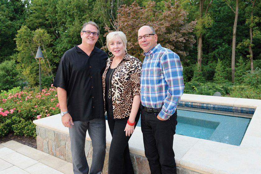 Christian Starr, Liza Jones, Kohlmark's Mark Kohler.