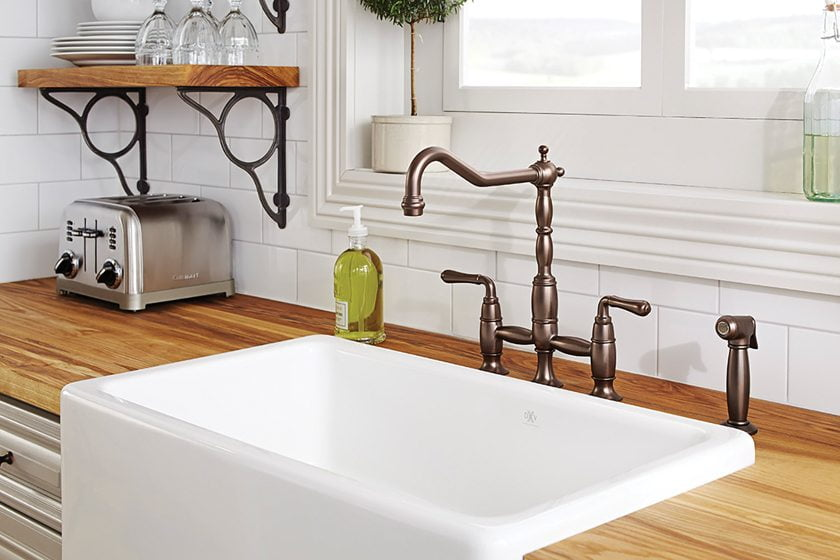 The Victorian Bridge Faucet from DXV.