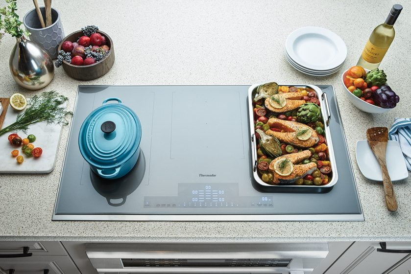 Thermador's Liberty Induction Cooktop.
