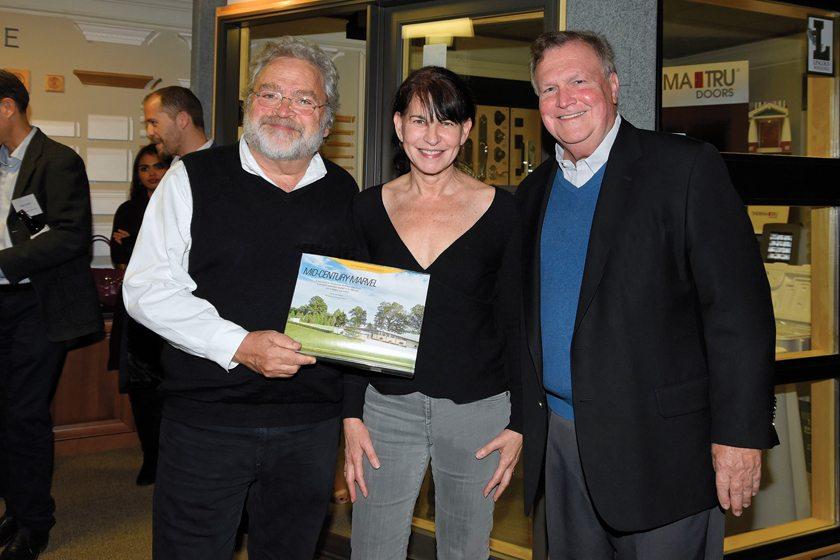 Greg Wiedemann, Barbara Sweeney, publisher Tod Herbers.