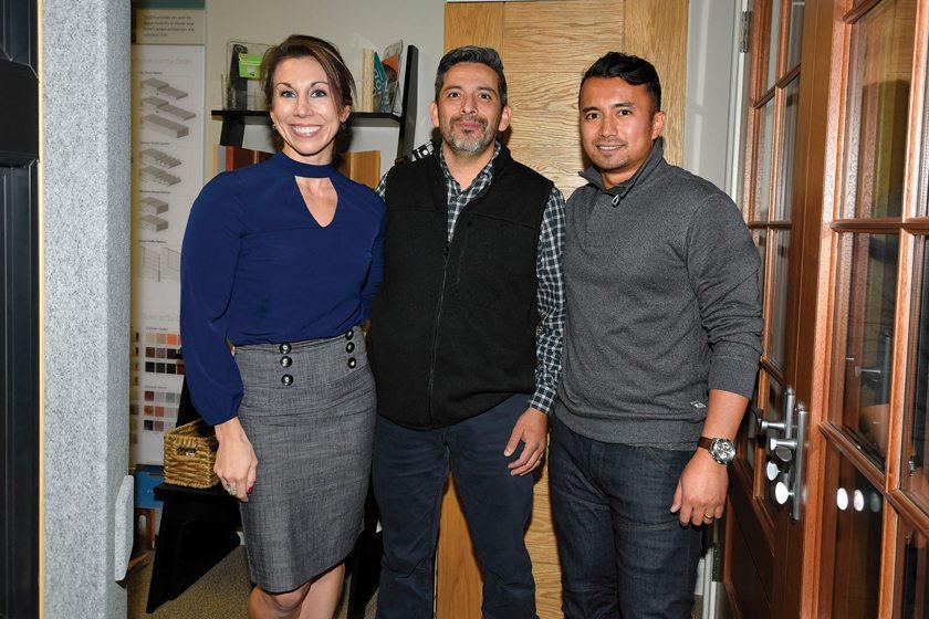 Steph Vaughan, Mike Estrada, Bryan Abdallah.