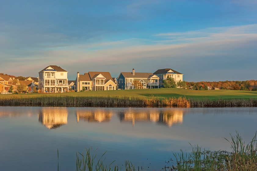 Community of the Year winner Bayside is nestled on 1,000 acres in Selbyville, Delaware. © Pamela Aquilani