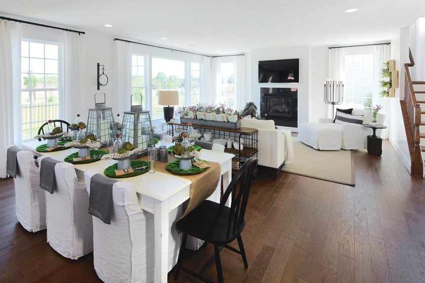 Manassas, Virginia's Hedgebrook at Cayden Ridge, winner for Detached Home $500,001 - $600,000. © Jim Kirby