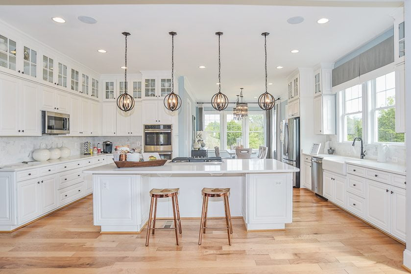 Timberneck at Willowsford in Ashburn, Virginia, won for Detached Home $850,001 - $1,000,000.  © John Moseley