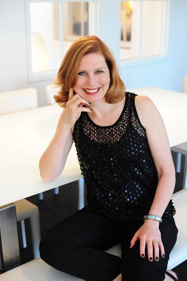 Designer Suzanne Manlove. Portrait by Michael Ventura