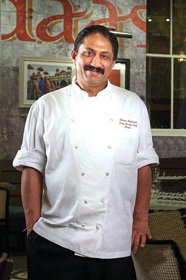 Bindaas's chef, Vikram Sunderam.