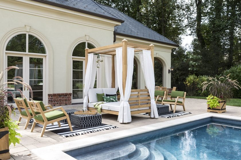 Poolside Oasis by Country Casual Teak.