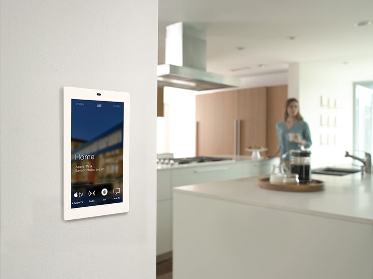 Savantu0027s New Touch Control Screen Manages Audio, Video, Climate, Security  And Pool/