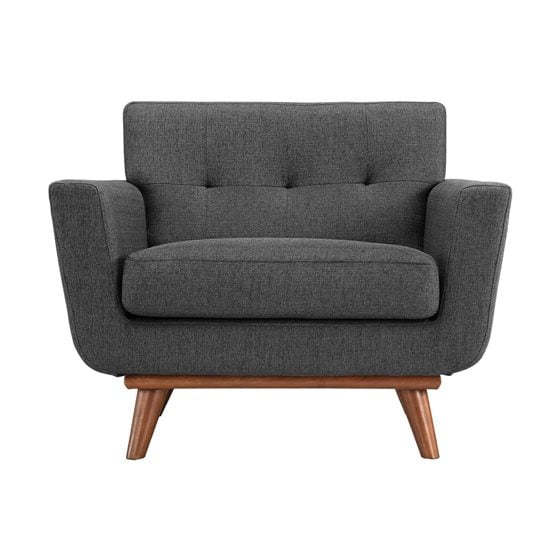 The Modway Gray Upholstered Chair.