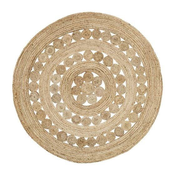 A jute rug from VHC Brands.