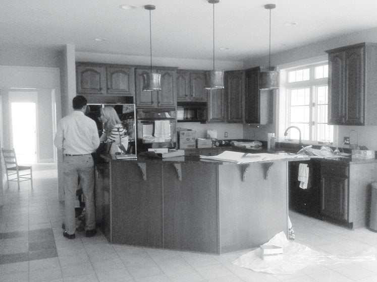 BEFORE: The kitchen.