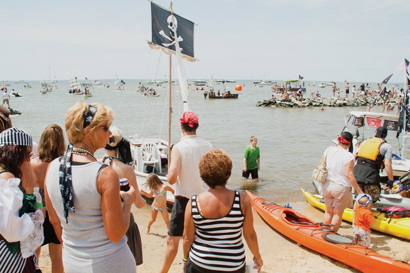 Pirates & Wenches Fantasy Weekend attracts cosseted revelers from August 10 to 12.