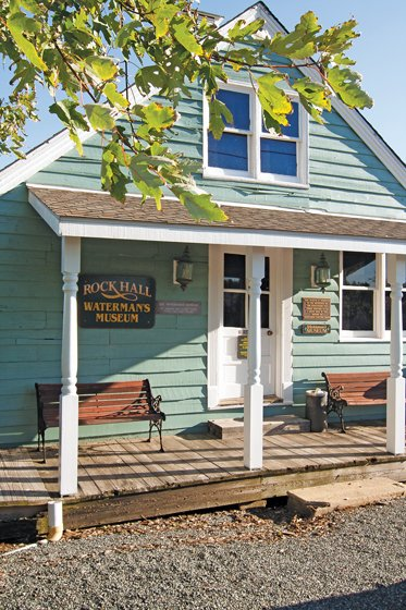 The Waterman's Museum chronicles the town's fishing, oyster and crabbing industries.