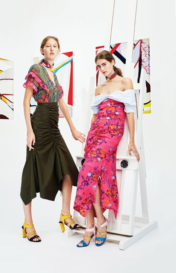 Spring/summer styles by Tanya Taylor.