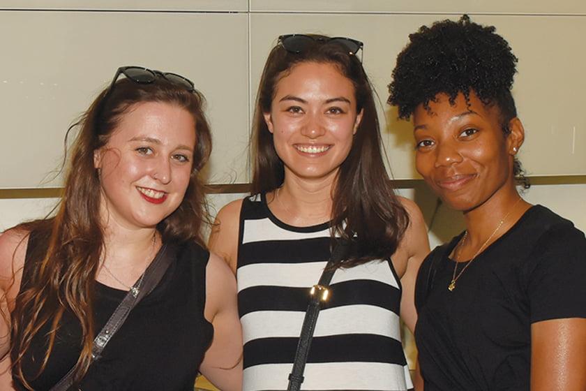 Claire Troitschler, Ariel Chelsey, Candice Nixon.
