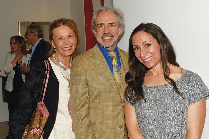 Helena Sagart, Ernesto Santalla, Home & Design's Monica West.