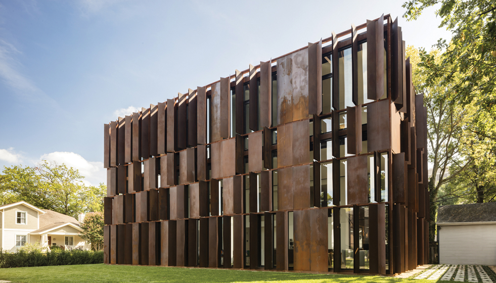AWARD OF EXCELLENCE: David Jameson Architect, Manifold House, Arlington, Virginia. © Paul Warchol